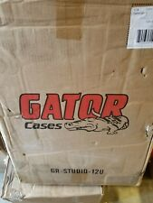 "Gator Cases GR-STUDIO-12U Studio Pro Audio Steel Rack Cabinet 15.5"" Deep New"
