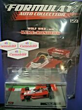 1/43 Wolf WR3 Keke Rosberg #32 1978 + Fas 159 Formula 1 Auto Collection F1