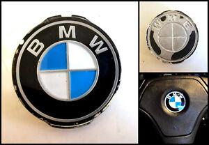 Genuine BMW E21 E30 E36 E28 E34 E24 Steering Wheel Horn Badge Logo (45mm)