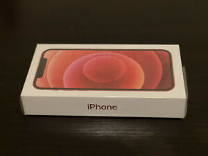 Apple iPhone 12 (PRODUCT)RED - 64GB (Unlocked) Sealed
