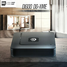 Digoo DG-xme 4 8 12CH 1080P HDMI P2P Grabador NVR independiente Onvif 2.5 Cámara IP