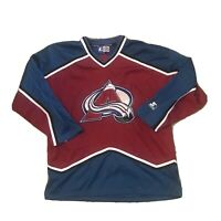 Vintage Starter NHL Colorado Avalanche Sewn Jersey Mens Large