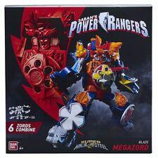 Power Rangers 43740 Super Ninja Steel Blaze Megazord Toy