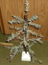 """22"""" Antique German blue green Feather Tree - replacement stand"""