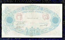 FRANCE | 500 FRANCS | 1929 | VF++