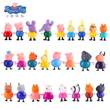 Peppa Pig George Guinea Pig Family Pack Dad Mom Action Figure Anime Toys 25Pcs