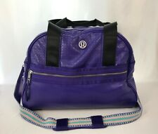 Lululemon Om Your Own Way Yoga Gym & Training Bag Purple