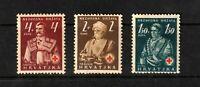 Croatia stamps #B3 - B5.  MHOG  VVF.  Semi Postals, complete set, 1941