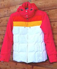 Jugendliche BOGNER Damen Skijacke echt Daune Kapuze weiss pink 36