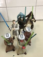 "STAR WARS Jedi Mix (x6) 3.75"" Figures (LOOSE) Hasbro"