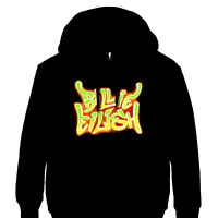 Billie Eilish - Airbrush Flames Blohsh Official Licensed Pullover Hoodie