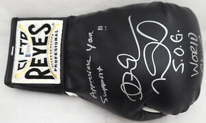 Andre Ward Autographed Reyes Boxing Glove World Champ & S.O.G. Beckett #V61326