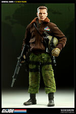 G.I. JOE~GENERAL HAWK~CLAYTON ABERNATHY~SIXTH SCALE FIGURE~LE 1500~SIDESHOW~MIB