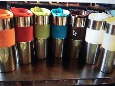 NIB- Bodum Stainless Steel Vacuum Travel Mug(choose a color)-ship free