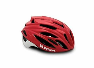 KASK Cycling Helmet- RAPIDO-Red Size Large