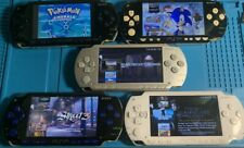 Sony PSP 1000 Handheld System With 1000 Plus Games 64gb Memory Card