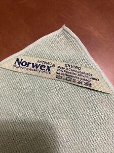 "Norwex  Microfiber Enviro Cloth New Chemical Free Antibacterial 14"" X 14"""