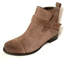 "Clarks Ladies ""ladbrokes Magic"" Taupe Stivaletti in pelle scamosciata misura 3.5D.NEW"