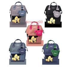 2019 NEW Anello Mickey Original Backpack Rucksack Unisex School Bookbag Handbag