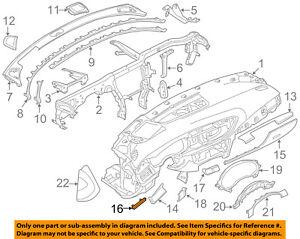 AUDI OEM 12-16 A6 Quattro Instrument Panel Dash-Front Molding Left 4G1853189E1NK
