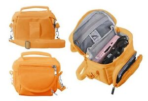 Orange Nintendo DS Lite/DSi/DSi XL/3DS/3DS XL Travel Bag Carry Case