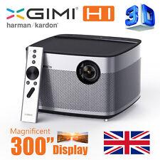 """Xgimi h1 Smart Home Theater 4k 300"""" 3d SMART PROIETTORE LiveTV. Direct h1 nativo"""
