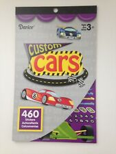 Custom Cars Sticker Book -460 Stickers