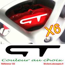 Stickers GT - Autocollant étrier frein Piston Mégane Twingo Renault Sport 135