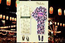 Sew Your Own Japanese Summer Yukata Kimono with Patterns for both Men & Women