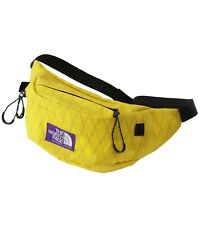 THE NORTH FACE PURPLE LABEL X-Pac Waist Bag NN7950N Yellow Fanny Pack Japan NEW