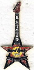 Hard Rock Cafe BEIJING 2003 9th Anniversary PIN Red Star Guitar 700 - HRC #17894