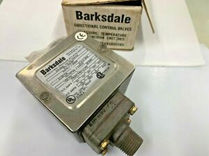 Barksdale E1H-H90-BR Pressure Switch 3-90 psi  0.21-6.21 bar UL Listed