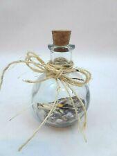 Coastal Sea Decorative Glass Bottle with Cork Redondo Beach California Sand