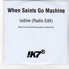 (EN861) When Saints Go Machine, lodine - DJ CD