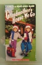 ashley & mary kate olsen TO GRANDMOTHER'S HOUSE WE GO VHS VIDEOTAPE grandmothers