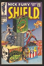 Nick Fury Agent of Shield #1 1968 VG+ Premiere Issue – Classic Steranko