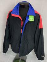 Vintage Helly Hansen Jacket Men's XL Tech Ski Sailing Coat Windbreaker Mountain