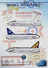Modello ALLEANZA Decalcomanie 1/32 BAC/EE Lightning F.1A, F.2 e F.3 PART 1 # 32701