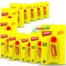 12x Carmex Moisturising Classic Lip Balm Tube For Chapped Dry Cracked Lips 10g