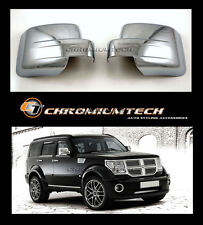 Dodge Nitro, JEEP Patriot CHROME Door Mirror Wing Mirror Cover CRD SXT
