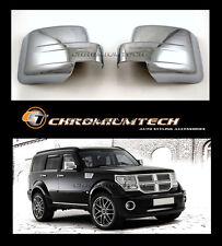 Dodge Nitro, JEEP Patriot CHROME Door Mirror Wing Mirror Cover CRD SXT