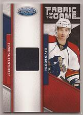 11-12 Panini Certified Fabric of the Game David Booth Jersey #/399