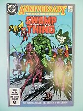 1986 DC Swamp Thing 50 1st Justice League Dark Rare Hot Key Show NM 9.4
