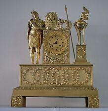 Empire französische Bronze Pendule um 1810