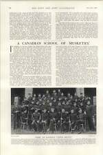 1902 Canadian School Of Musketry High Standard Group Photo