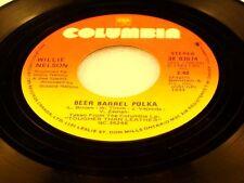 WILLIE NELSON - Beer Barrel Polka / Little Old Fashioned Karma - 1983 VG+/VG++