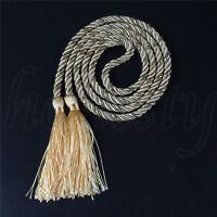 Chic Handmade Window Curtain Rope Tie Backs Tiebacks Room Tassel Decor Ornament