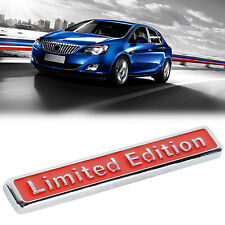 E828 Limited Edition Emblem Badge auto aufkleber 3D Plakette car Sticker rot