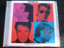 2CD  SASHA  Greatest Hits  Neuwertige Doppel CD