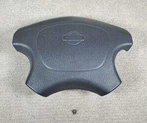 1994-1995 Nissan Pathfinder D21 Hardbody Truck Steering Wheel Horn Cover OEM